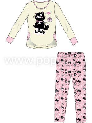 Dámsky pyžamo Poppy Amina